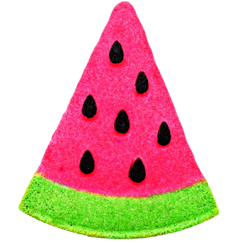 Summer Picnic Watermelon Fizzy Bath Bomb VEGAN